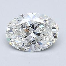 Recommended Stone #3: 1.35-Carat Oval Cut Diamond