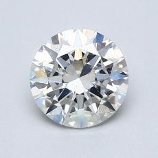 1.00 Carat 圓形 Diamond 理想 G SI1
