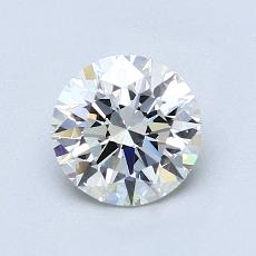 1,01-Carat Round Diamond Ideal H VVS1