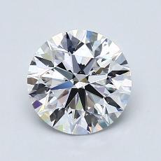 推薦鑽石 #1: 1.40  克拉圓形切割