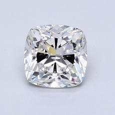 1.06-Carat Cushion Diamond Very Good E IF