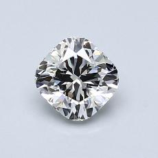 Recommended Stone #2: 0.83-Carat Cushion Cut Diamond