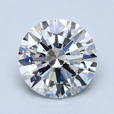 1.50-Carat Round Diamond Ideal H VS2
