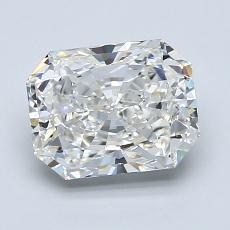 Pierre recommandée n°4: Diamant taille radiant 1,91 carats
