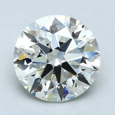 Recommended Stone #3: 3.14-Carat Round Cut Diamond