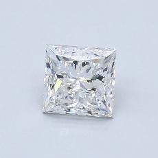 Piedra recomendada 2: Talla princesa de 0.80 quilates