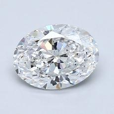 Recommended Stone #2: 1.30-Carat Oval Cut Diamond