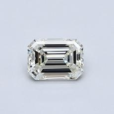 Recommended Stone #1: 0,50-Carat Emerald Cut Diamond