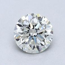 1.00-Carat Round Diamond Good I SI2