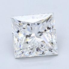2.01 Carat 公主方形 Diamond 非常好 E VS1
