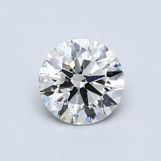推荐宝石 3:0.72 克拉圆形 Cut