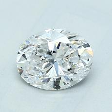 Recommended Stone #4: 1,01-Carat Oval Cut Diamond