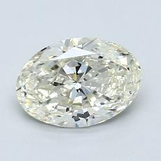 1.01-Carat Oval Diamond Very Good K SI1