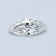 0.33-Carat Marquise Diamond Very Good E VVS1