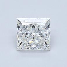1,00 Carat Princesse Diamond Très bonne G VS2