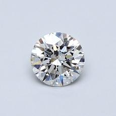 Recommended Stone #2: 0,51-Carat Round Cut Diamond