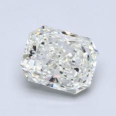 Pierre recommandée n°3: Diamant taille radiant 1,22 carats