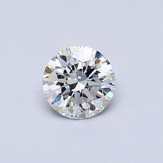 推荐宝石 4:0.43克拉圆形切割钻石