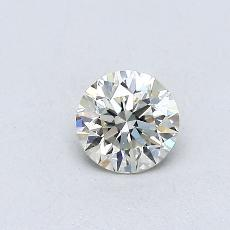 Recommended Stone #1: 0,36-Carat Round Cut Diamond