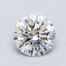 1,01-Carat Round Diamond Ideal I SI1