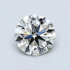 1.01-Carat Round Diamond Very Good I SI2