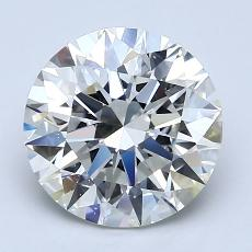 Recommended Stone #1: 2.52-Carat Round Cut Diamond
