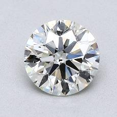 推荐宝石 2:1.08 克拉圆形切割
