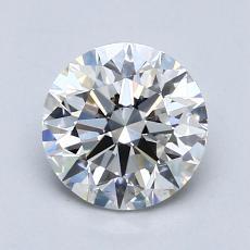 1.00 Carat 圓形 Diamond 理想 F VS2