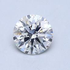 0.92 Carat 圓形 Diamond 理想 H SI1