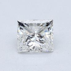 1.01 Carat 公主方形 Diamond 非常好 F IF