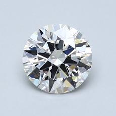 1.05 Carat Redondo Diamond Ideal F VVS2