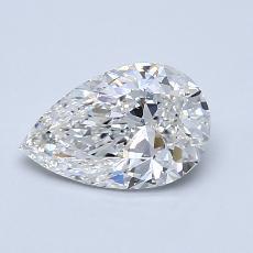 1.01 Carat 梨形 Diamond 非常好 F VS1