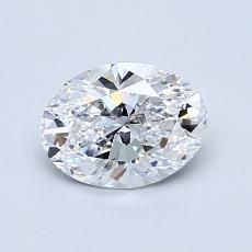 推荐宝石 4:0.83克拉椭圆形切割钻石