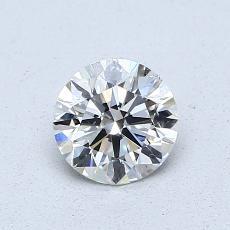 0,70-Carat Round Diamond Ideal H VVS2