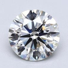 Recommended Stone #3: 2.51-Carat Round Cut Diamond