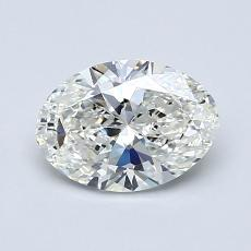 1.00-Carat Oval Diamond Very Good I VS1