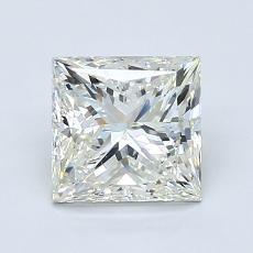 推荐宝石 3:1.51 克拉公主方形钻石