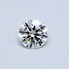 Recommended Stone #4: 0,33-Carat Round Cut