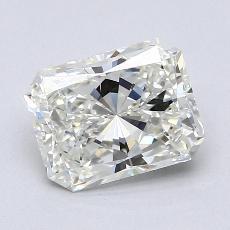 1.30-Carat Radiant Diamond Very Good I VS1