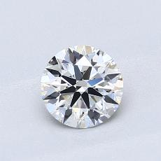 Recommended Stone #3: 0,65-Carat Round Cut Diamond