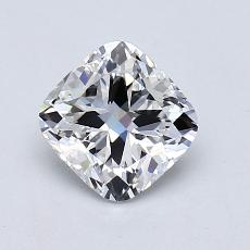 1.06 Carat 垫形 Diamond 非常好 D VVS1