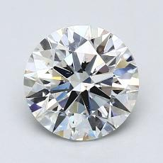Piedra recomendada 3: Talla redonda de 1.40 quilates