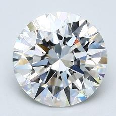 2.01 Carat Redondo Diamond Ideal E VVS2