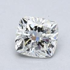 1.01-Carat Cushion Diamond Very Good G VS1