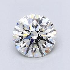 1.20 Carat ラウンド Diamond アイデアル H VS2