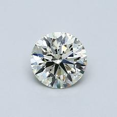 Recommended Stone #1: 0.54-Carat Round Cut