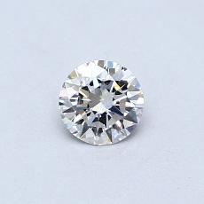 0,30 Carat Rond Diamond Idéale E IF