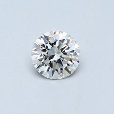 0,73-Carat Round Diamond Ideal E VVS1