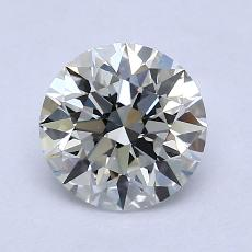 1.21 Carat 圆形 Diamond 理想 I VS1