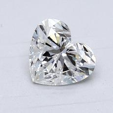 1,05-Carat Heart Diamond Very Good D VS1